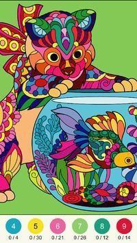 神奇色彩着色游戏