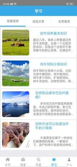 蒙文农牧业专家远程诊断系统APP