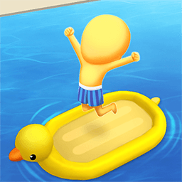 >疯狂游泳转圈圈