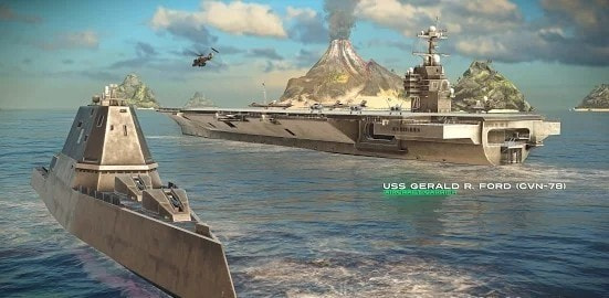 modern warships游戏