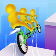 单车叠起来