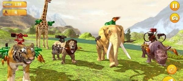 新恐龙生存战斗野兽攻击